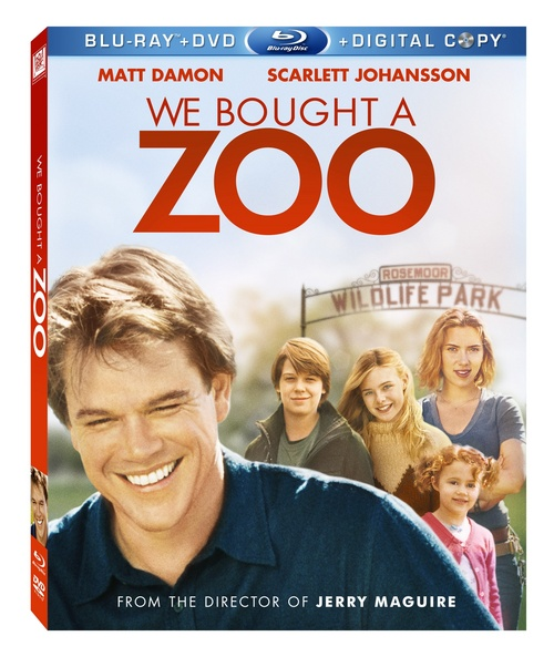 We Bought a Zoo available on Blu Ray from Fox