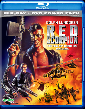 RED SCORPION Blu-Ray