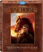 WAR HORSE available now on Blu Ray from Dreamworks