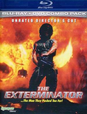 THE EXTERMINATOR available now from Synapse Films