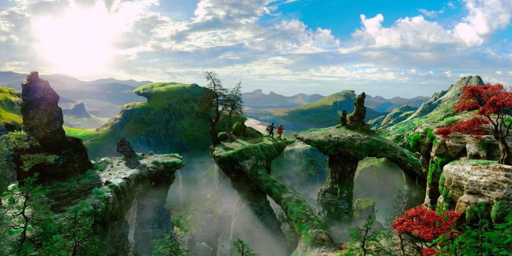 Oz landscape