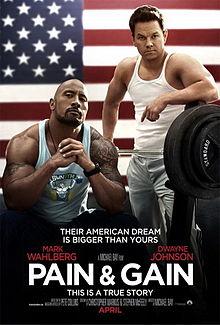 Pain & Gain teaser poster
