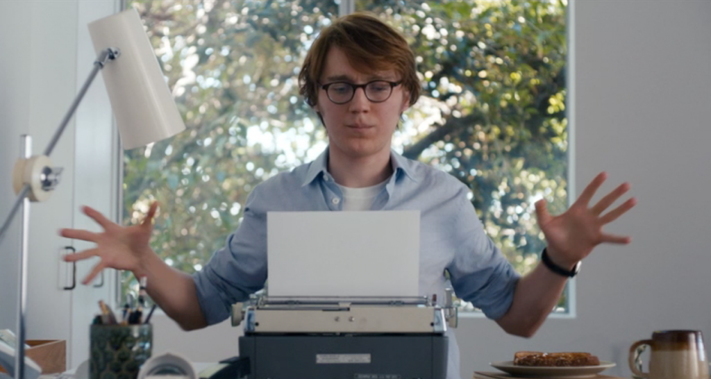 Calvin writes out Ruby Sparks