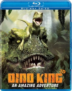 Dino King 3d blu-ray cover