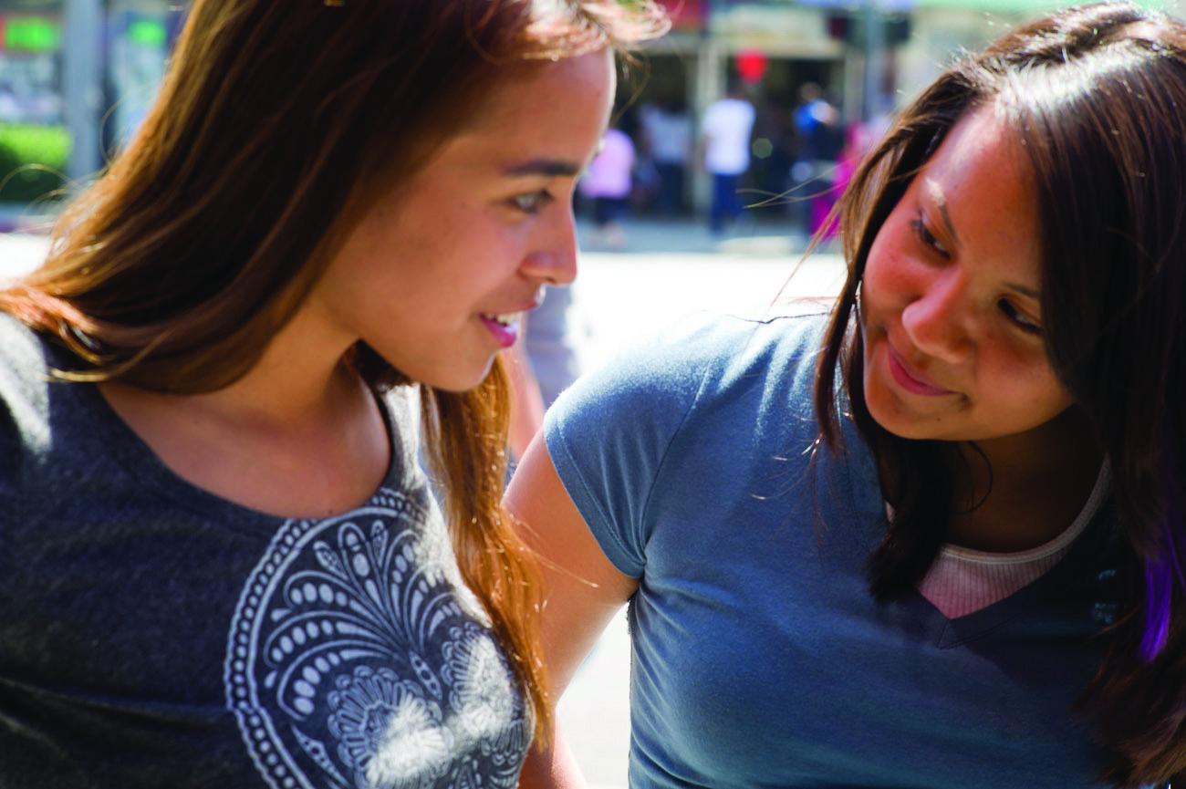Yolanda and Mari