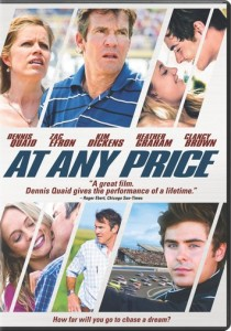AT ANY PRICE, coming to DVD and Blu-Ray on 8/27 from Sony Pictures Home Entertainment