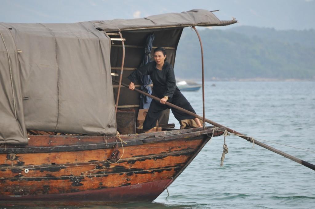 Tanka fisherwoman